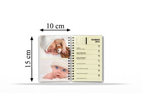 Terminarz 15x10cm