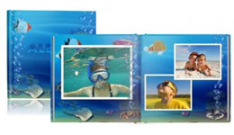 Foto książka premium 21 na 21 cm - Rybkowy