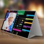 Fotokalendarz XL projekt czarne paski - ALBOOM.PL