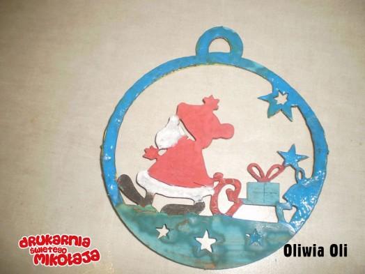 Oliwia OliMiejsce 2 Christina Papaloannou - Konkurs Kolorowe Święta 2013 w Alboom.pl