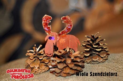 Wiola SzendzielorzMiejsce 2 Christina Papaloannou - Konkurs Kolorowe Święta 2013 w Alboom.pl