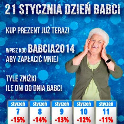 Fotkalendarz na Dzień Babci od Alboom.pl