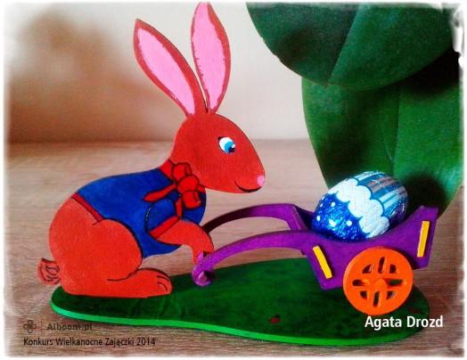 Konkurs Wielkanocne Zajączki 2014 - Agata Drozd