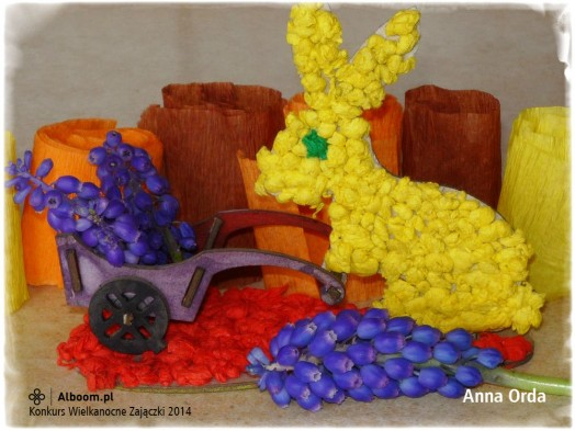 Konkurs Wielkanocne Zajączki 2014 - Anna Orda