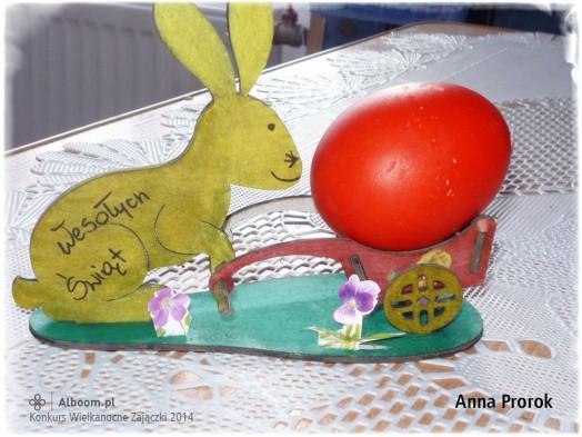Konkurs Wielkanocne Zajączki 2014 - Anna Prorok