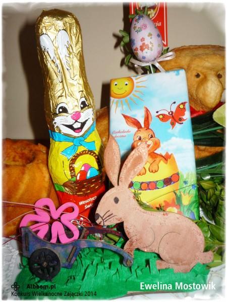 Konkurs Wielkanocne Zajączki 2014 - Ewelina Mostowik