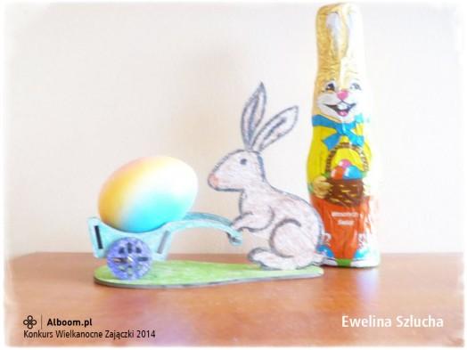 Konkurs Wielkanocne Zajączki 2014 - Ewelina Szlucha