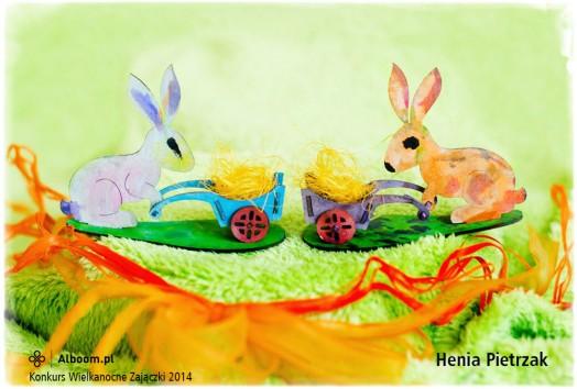 Konkurs Wielkanocne Zajączki 2014 - Henia Pietrzak