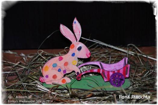 Konkurs Wielkanocne Zajączki 2014 - Ilona Januchta