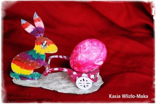 Konkurs Wielkanocne Zajączki 2014 - Kasia Wlizlo-Maka