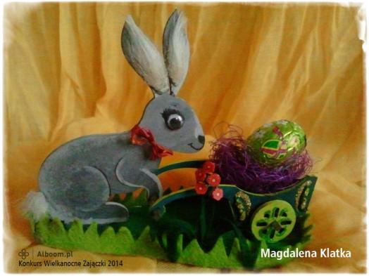 Konkurs Wielkanocne Zajączki 2014 - Magdalena Klatka