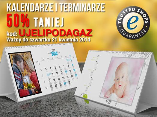 Fotokalendarze za pół ceny na Wielkanoc w Alboom.pl