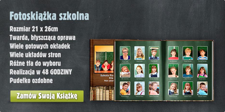 Fotoksiążka szkolna 21x26cm w Alboom.pl