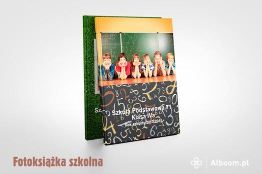 Fotoksiążka szkolna w Alboom.pl