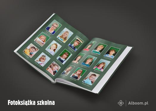 Fotoksiążka szkolna z Alboom.pl