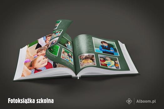 Fotoksiążki szkolne z Alboom.pl