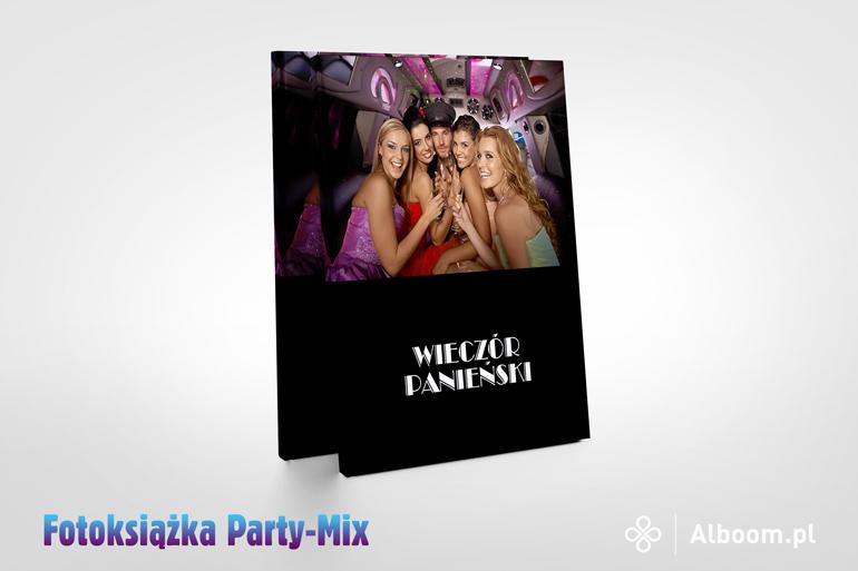 Fotoksiążka Party-Mix 21x26cm w Alboom.pl