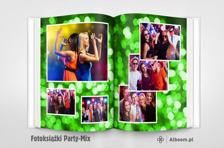 Fotoksiążka Party-Mix 21na26cm w Alboom.pl