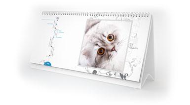 Fotokalendarz biurkowy XL ze zdjęciami z instagramu w Alboom.pl