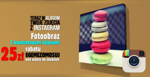 Fotoobrazy ze zdjęć z Instagram w Alboom.pl
