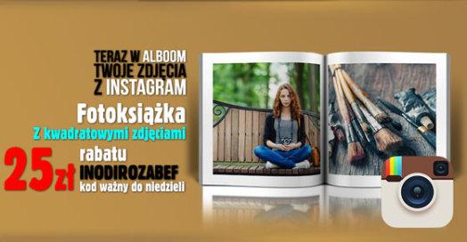 Fotoksiążki ze zdjęciami z Instagram w Alboom.pl