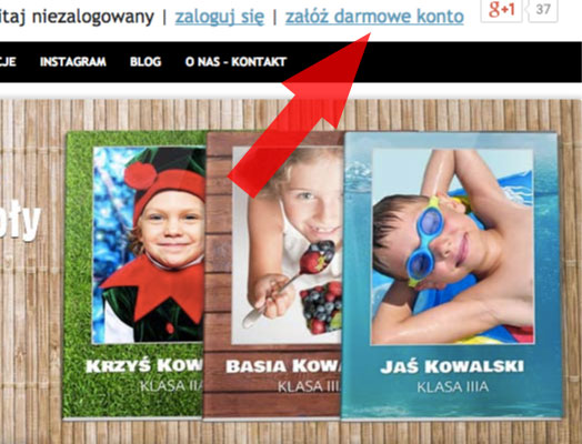 Jak zrobić zeszyt szkolny w Alboom.pl