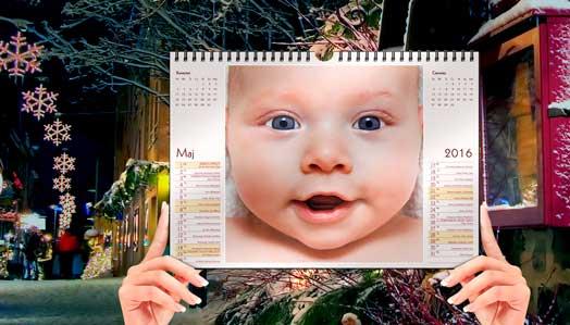 Nowe projekty fotokalendarzy A4 w Alboom.pl