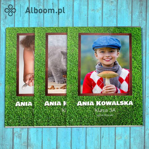 Pomysły na zeszyty szkolne z własną okładką w Alboom.pl