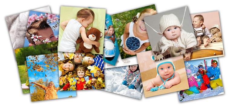 Kwadratowe zdjęcia na całą stronę w Alboom.pl