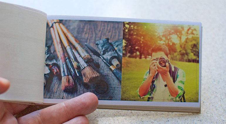 Naklejki 6,5 na 6,5 cm z własnych zdjęć w Alboom.pl