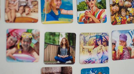 Magnesy z własnych zdjęć 6,5 na 6,5 cm