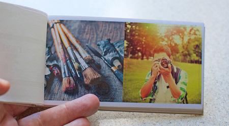 Obrazki z własnych zdjęć 6 na 6cm w Alboom.pl