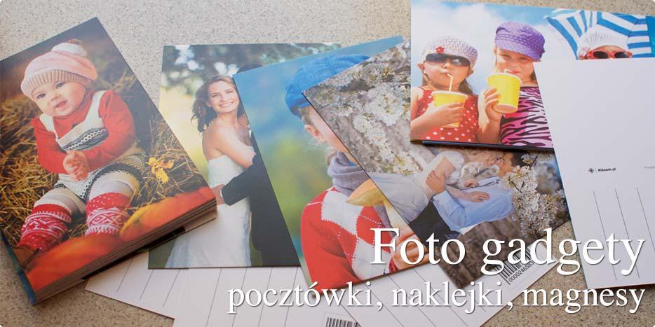 Fotogadgety z własnuch zdjęć w Alboom.pl