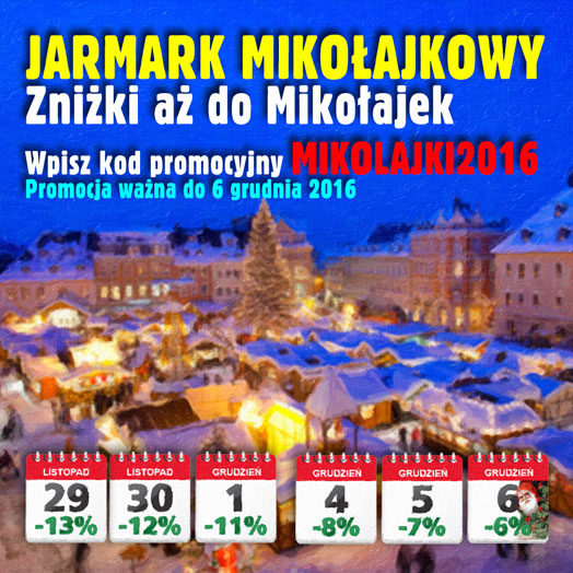 Jarmark Mikołajkowy w Alboom.pl