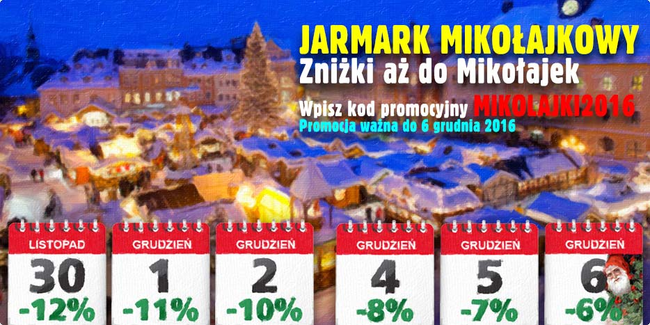 Jarmark Mikołajkowy 2016 czyli kalendarzobranie w Alboom.pl