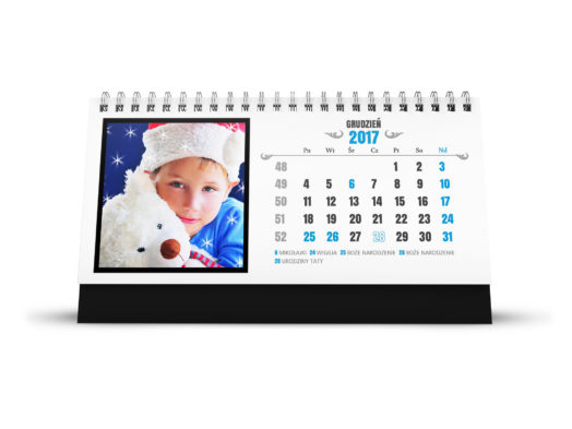 Kalendarze biurkowe w Alboom.pl