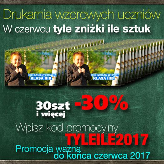 Drukarnia wzorowych uczniów 2017