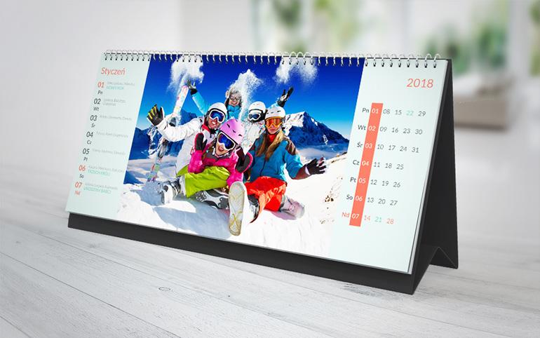 fotokalendarz tygodniowy XL - projekty klasyczne