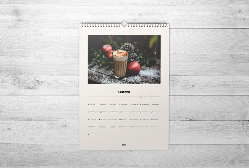 Kalendarz A3 PRO w Alboom.pl