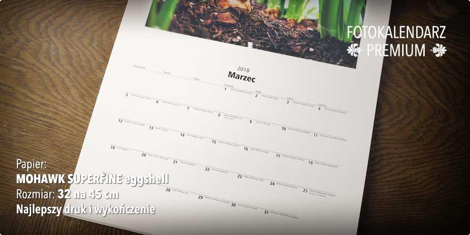 Fotokalendarze PRO w Alboom.pl