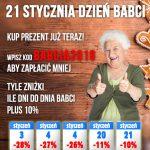 Dzień babci 2018 w Alboom.pl