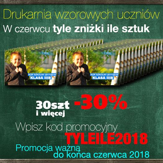 Drukarnia wzorowych uczniów 2018