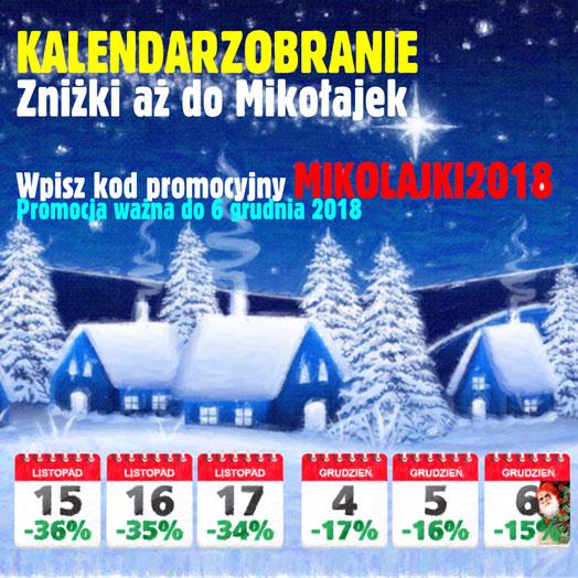 Kalendarzobranie 2018 w Alboom.pl
