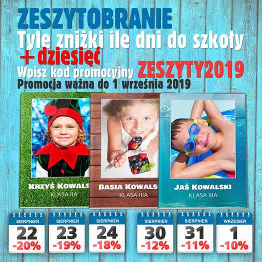 Zeszytobranie 2019 w Alboom.pl