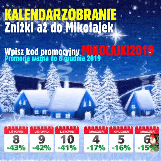 Kalendarzobranie 2019 w Alboom.pl