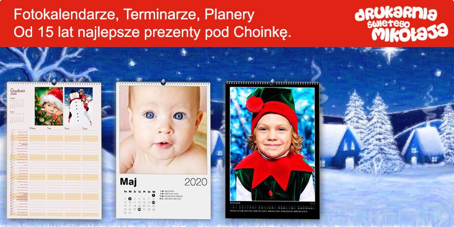Fotokalendarze, terminarze, planery. Najlepsze prezenty pod choinkę w Alboom.pl