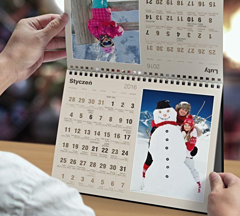 Kalendarz Biurkowy Miesieczny Xxl Alboom Pl
