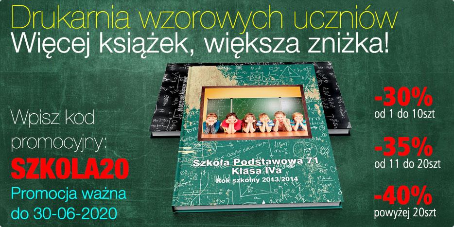 Szkolne fotoksiążki w Alboom.pl