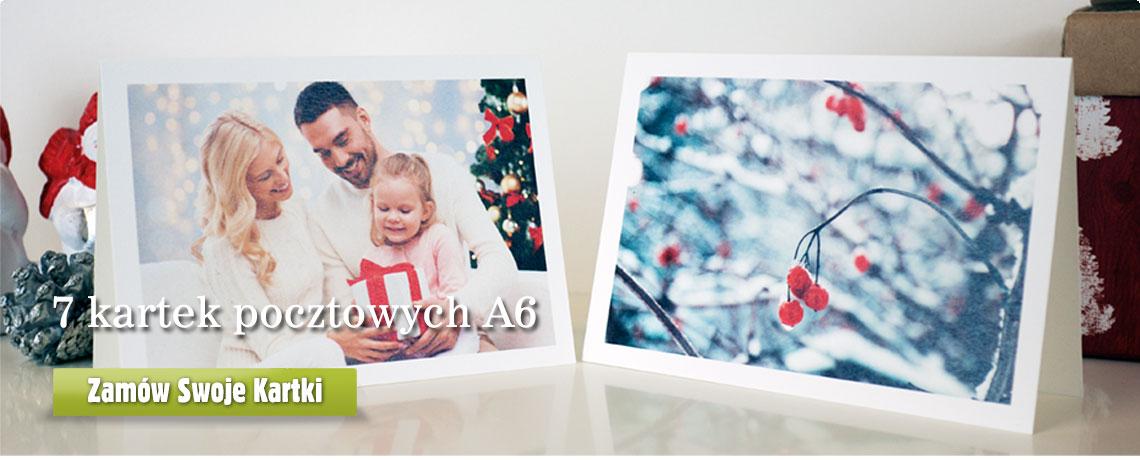 Kartki pocztowe A6 w Alboom.pl
